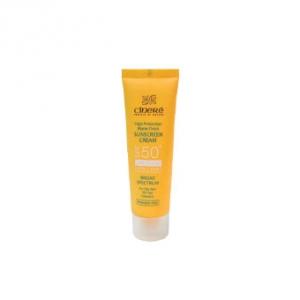 کرم ضد آفتاب سینره spf50 مناسب پوست چرب