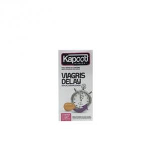 کاندوم تاخیری کاپوت مدل viagris