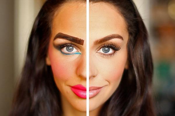 بررسی اشتباهات آرایشی خانم ها