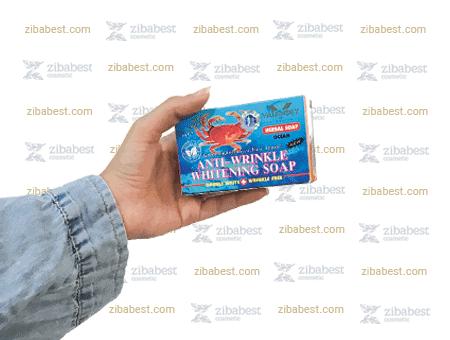 صابون خرچنگ والنسی به عنوان قوی ترین صابون ضد چروک صورت
