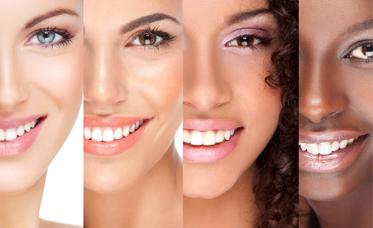 آرایش انواع پوست صورت
