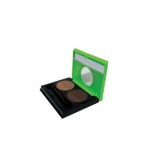 سایه ابرو کالیستا مدل Design Dual Eyebrow شماره EB01،بهترین سایه ابرو با پایه رنگ قهوه تیره