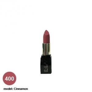 رژ لب شماره 400 این لی مدل Cinnamon به عنوان بهترین رژ لب جامد با پوشش دهی بالا