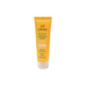 کرم ضد آفتاب سینره برای پوست خشک