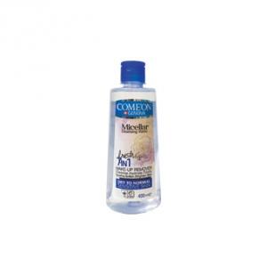 میسلار واتر پوست خشک کامان به عنوان بهترین تونر پاک کننده آرایش صورت