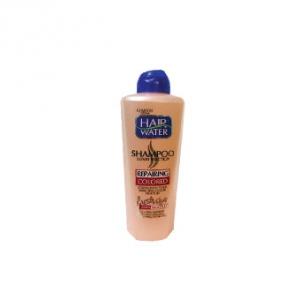 شامپو موهای رنگ شده کامان به عنوان بهترین هیر واتر ترمیم کننده مو