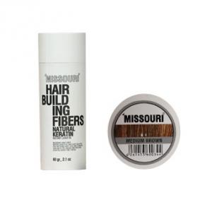 پودر مو میسوری رنگ قهوه ای تیره به عنوان بهترین محصول پرپشت کننده مو