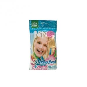 دستمال مرطوب کودک نینو مدل hard fresh به عنوان بهترین پاک کننده دست و صورت کودک