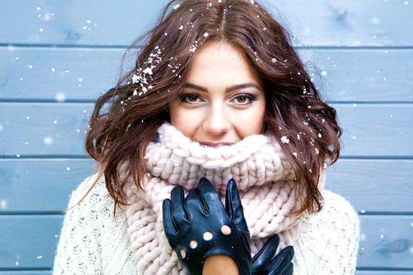 آرایش چشم ملایم بهترین ترند آرایش زمستانی
