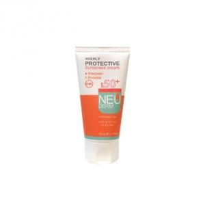 کرم ضد آفتاب بی رنگ پوست خشک و معمولی نئودرم spf50 به عنوان قوی ترین محافظت کننده پوست