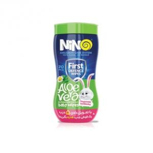 دستمال مرطوب کودک نینو 70 عددی به عنوان بهترین دستمال پاک کننده کودک فاقد اسانس