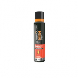 اسپری دئودورانت انرژی بخش مردانه هیدرودرم به عنوان بهترین ضد تعریق خوشبو کننده بدن