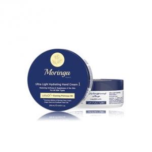 کرم مرطوب کننده دست و صورت انواع پوست مورینگا، بهترین کرم آبرسان و محافظت کننده پوست