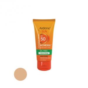 کرم ضد آفتاب پوست چرب و آکنه ای Acnesol آردن به عنوان بهترین ضد افتاب رنگی فاقد چربی