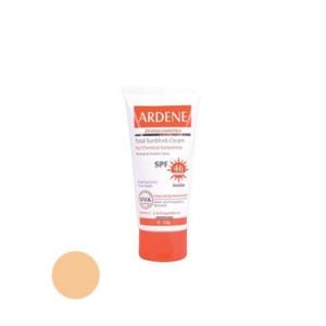 کرم ضد آفتاب spf46 آردن مدل توتل به عنوان بهترین مارک ضد آفتاب برای پوست های حساس و معمولی