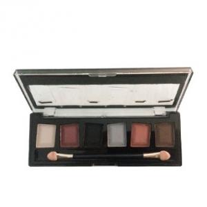 پالت سایه چشم شش رنگ ژوپیتر شماره 05 به عنوان بهترین سایه چشم با رنگ های مات، براق و اکلیلی
