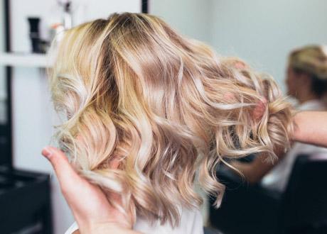 نگهداری از موهای بلوند