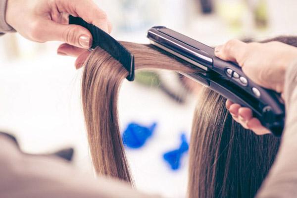 نگهداری موهای دکلره شده از حرارت